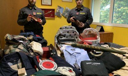 Contrabbando di vestiti griffati per oltre un milione di euro