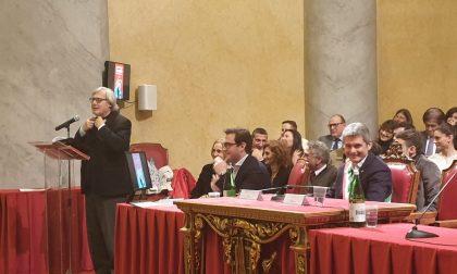 Aula Magna gremita per la lectio magistralis di Vittorio Sgarbi FOTO