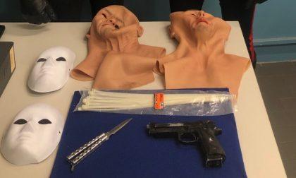 Banditi mascherati rapinano la gioielleria Boffini di Vigevano