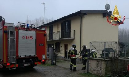 Principio d'incendio di una canna fumaria a Mede, arrivano i Vigili del fuoco