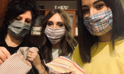 Da stilista a realizzatrice di mascherine: la storia di Yvonne ai tempi del Coronavirus