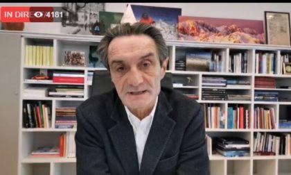Decreto Coronavirus: Fontana risponde ai cittadini lombardi chiarendo alcuni punti VIDEO