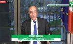 """Coronavirus, Gallera: """"I dati vanno meglio"""" A Pavia 2036 positivi (+62) VIDEO"""