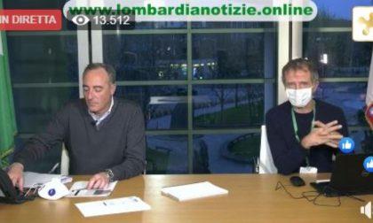 """Coronavirus, Gallera: """"Oggi dimezzamento crescita dei positivi"""". A Pavia +112 VIDEO"""