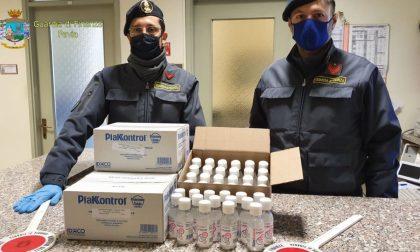 Vende gel igienizzante con rincari del 300%, denunciato farmacista lomellino VIDEO – FOTO