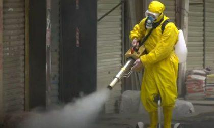 Emergenza Covid, riprese le attività di lavaggio straordinario dell'ospedale e delle strade cittadine