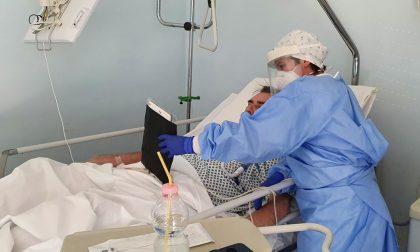 Coronavirus, videochiamate in reparto per mantenere i contatti con la famiglia