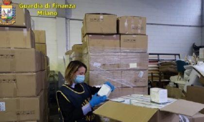 Maxi sequestro della Guardia di Finanza: ritirate oltre 240mila mascherine illegali