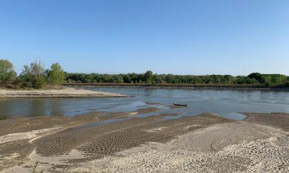 Caldo, allarme siccità in Lombardia: al Ponte della Becca fiume Po sceso a -2,7 metri