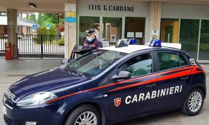 Furto notturno all'ITIS Cardano: denunciati due diciottenni