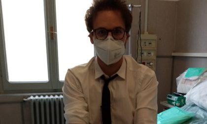 """Al San Matteo la """"iena"""" Alessandro Politi dona il proprio plasma iperimmune: """"Potete salvare tante vite"""""""