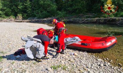 Arriva la conferma: il corpo ritrovato nel Ticino è di Antonio Carini
