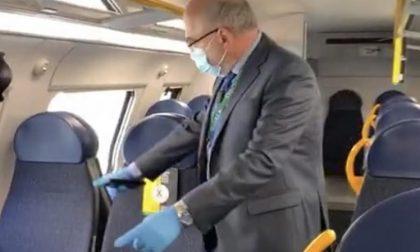 Passeggeri rifiutano di indossare la mascherina: caos sulla Milano-Mortara
