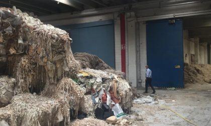 Voghera: partiti i lavori per lo smaltimento dei rifiuti alla ditta ex Recology FOTO