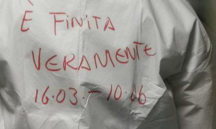 """""""E' finita veramente"""": istituto Maugeri festeggia chiusura del reparto Covid"""