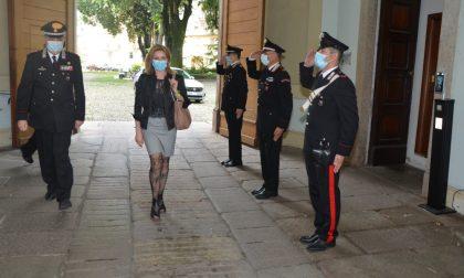 Il Prefetto Scialla in visita al Comando Provinciale dei Carabineri di Pavia FOTO