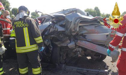 Incidente stradale in autostrada, sulla A1 atterra l'elisoccorso FOTO