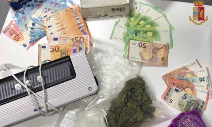 Market della droga nel garage di casa: arrestato 43enne incensurato