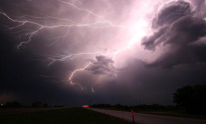 Rischio forti temporali: permane l'allerta meteo per tutta la giornata di oggi