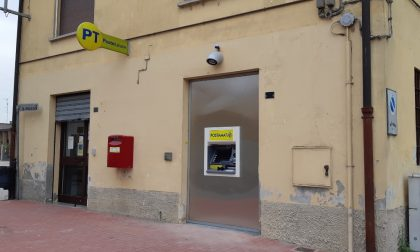 Installato un nuovo ATM Postamat a Castello d'Agogna