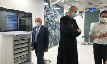 IRCCS Pavia: inaugurati nuovo Blocco operatorio e nuova accettazione