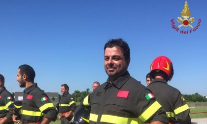Vigili del Fuoco, il giuramento via streaming di Luca Romani