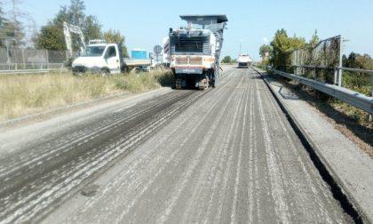 Al via le asfaltature: chiude la Tangenziale Voghera-Casteggio, modifiche alla circolazione su tratti di Provinciali