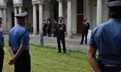 Il saluto del Comandante della Legione Lombardia ai Carabinieri di Pavia