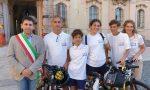 """""""Vento lento"""", il tour in bici per promuovere la mobilità sostenibile fa tappa a Pavia"""