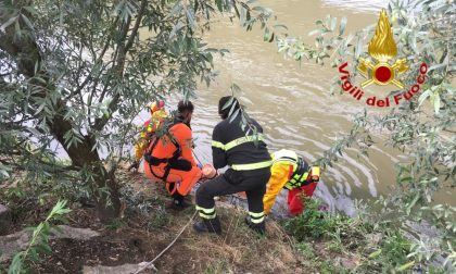 38enne precipita da un ponte, trovato morto dai sommozzatori dei Vigili del Fuoco