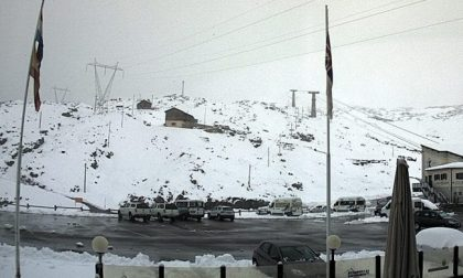 Dopo il gran caldo arriva la nevicata d'agosto FOTO