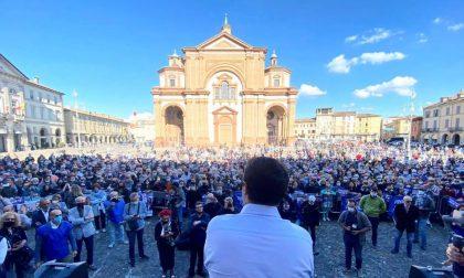 Elezioni Voghera 2020: Matteo Salvini torna in città a sostegno di Paola Garlaschelli
