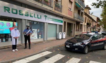 Ladro 18enne svaligia farmacia a Voghera, ma scatta l'allarme e arrivano i Carabinieri