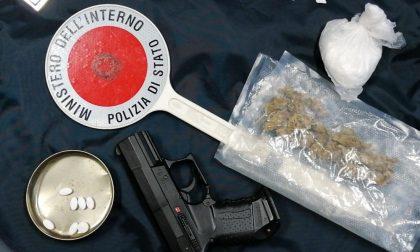 Laboratorio della droga in garage: per il 51enne scatta l'arresto