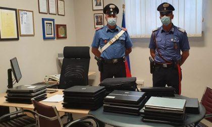 """Ladri di computer all'Istituto Dante di Voghera: """"beccati"""" da agente fuori servizio"""