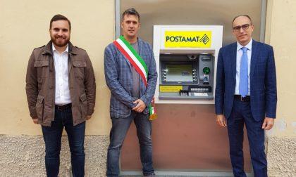 Inaugurato il nuovo Postamat a Castello d'Agogna