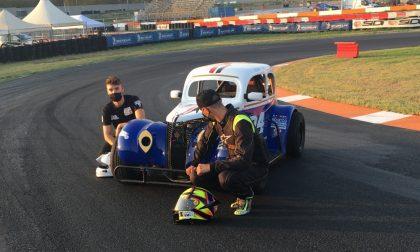 Milanesi e Foglia in pista con le Legend Cars si preparano alle prossime gare