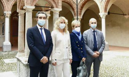 """Presidente Fontana incontra il """"Paziente 1"""" e le dottoresse Ricevuti e Malara che effettuarono la diagnosi"""