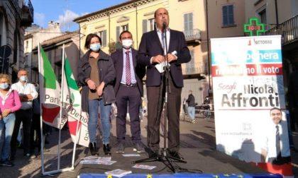 Elezioni Voghera 2020: Nicola Zingaretti a sostegno di Nicola Affronti