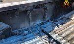 Incendio pannelli fotovoltaici: a Mortara arrivano i Vigili del Fuoco