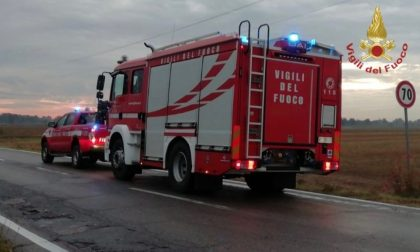 Scontro tra auto sulla Sp 206, due donne all'ospedale FOTO