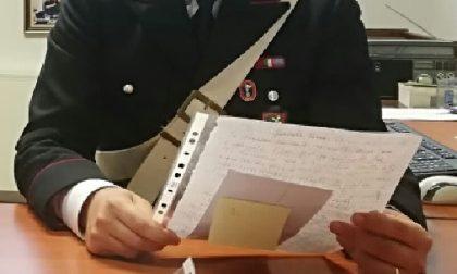 Tenta estorsione da 40mila euro dando il tormento al vicino di casa con lettere anonime