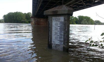 Maltempo, al Ponte della Becca il livello del Po è salito di 3 metri in 24 ore