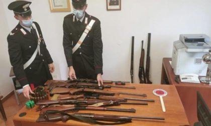 Ritrovata a Mede una cassaforte contenente 12 fucili da caccia e numerose cartucce