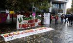 Studenti, genitori e docenti protestano contro la didattica a distanza FOTO