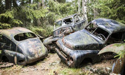 Carcasse di veicoli e elettrodomestici: in cortile gli trovano 100 metri cubi di rifiuti