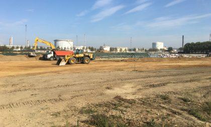 Iniziati i lavori al lotto 2 della discarica di cemento amianto di Ferrera Erbognone
