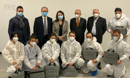 Donati 7 nuovi escografi portatili alle USCA di Pavia