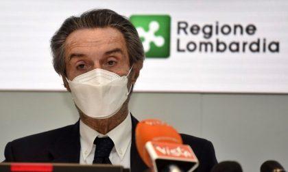 """Covid, Presidente Fontana: """"Ricoveri in flessione. Piccolo segnale di miglioramento"""""""