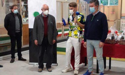Davide Coscia, studente dell'Istituto Pascal di Voghera, medaglia d'argento ai Campionati Nazionali Juniores di Bocce